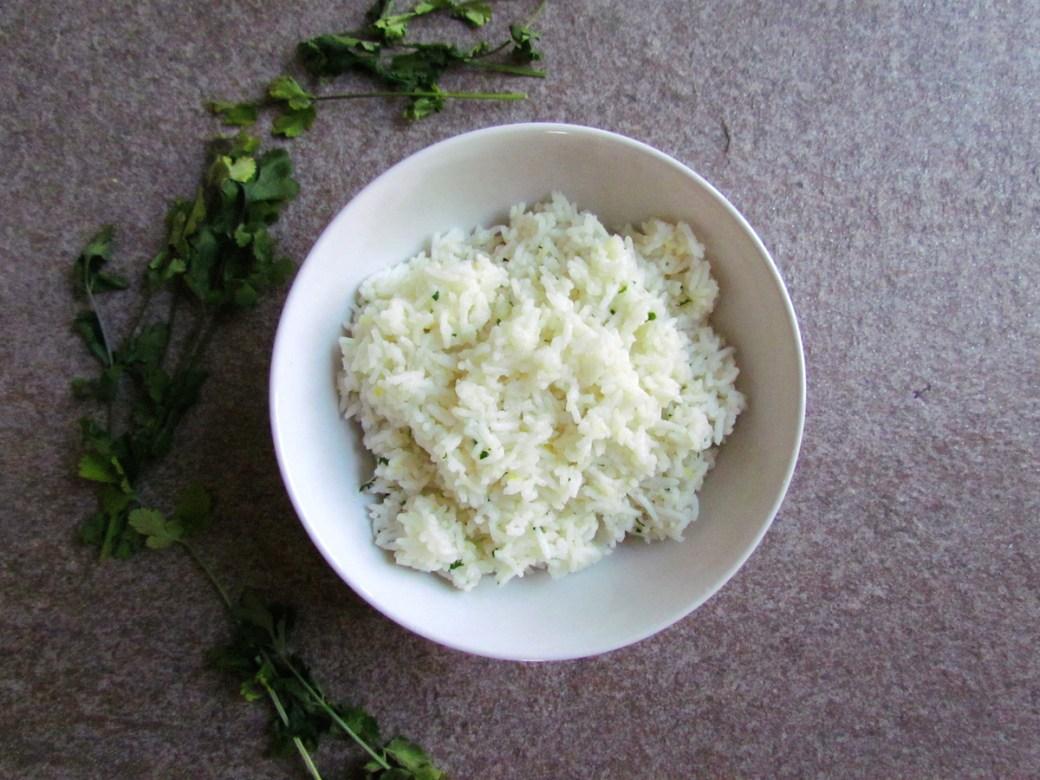 riz basmati au gingembre et citron