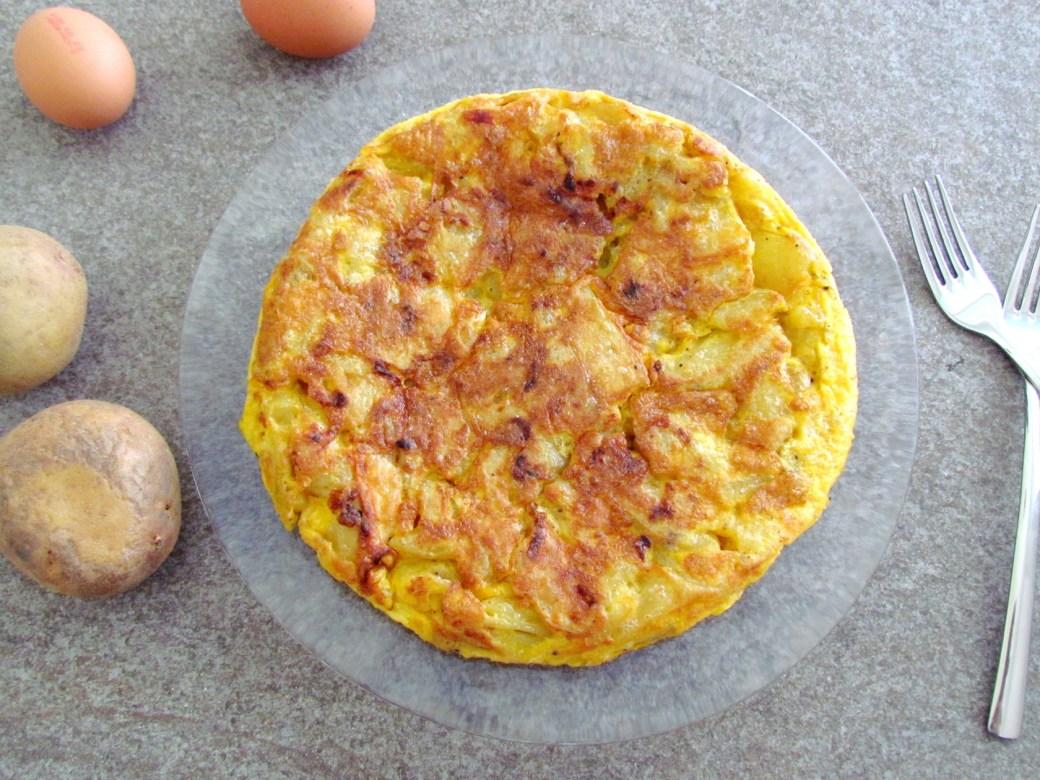 tortilla espagnole aux pommes de terre