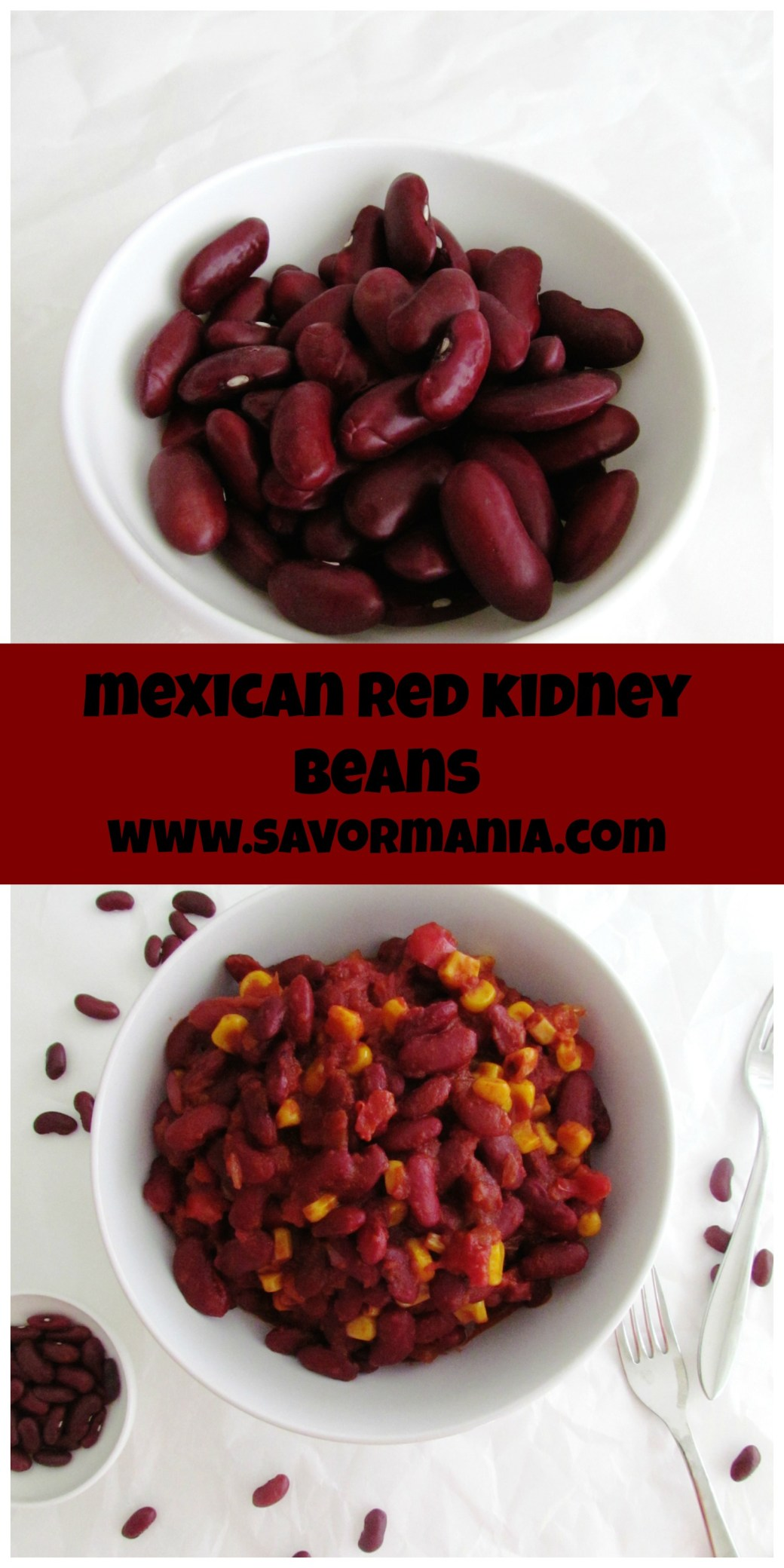 Mexican Red Kidney Beans | www.savormania.com