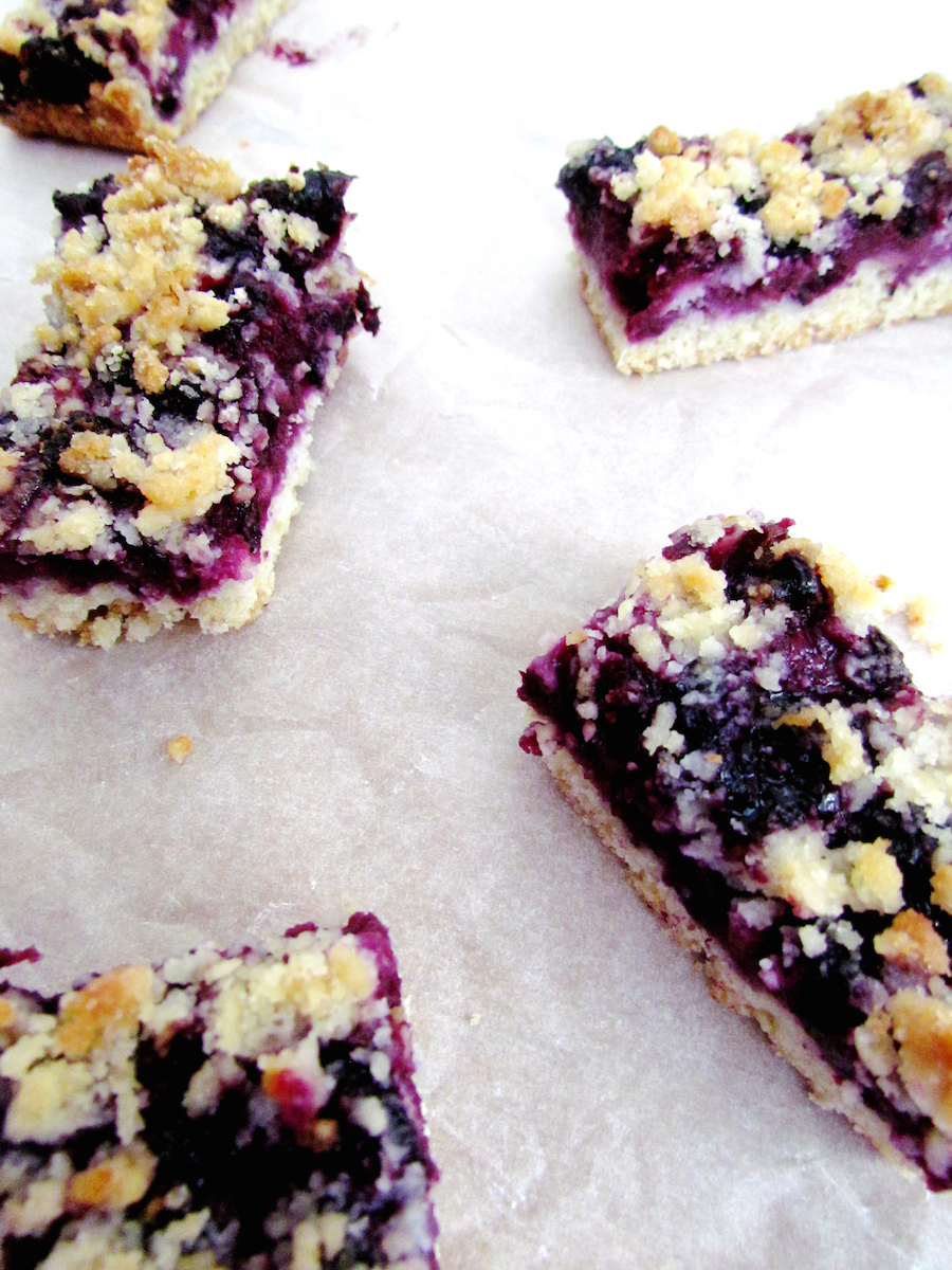 blueberry crumble bars | www.savormania.com