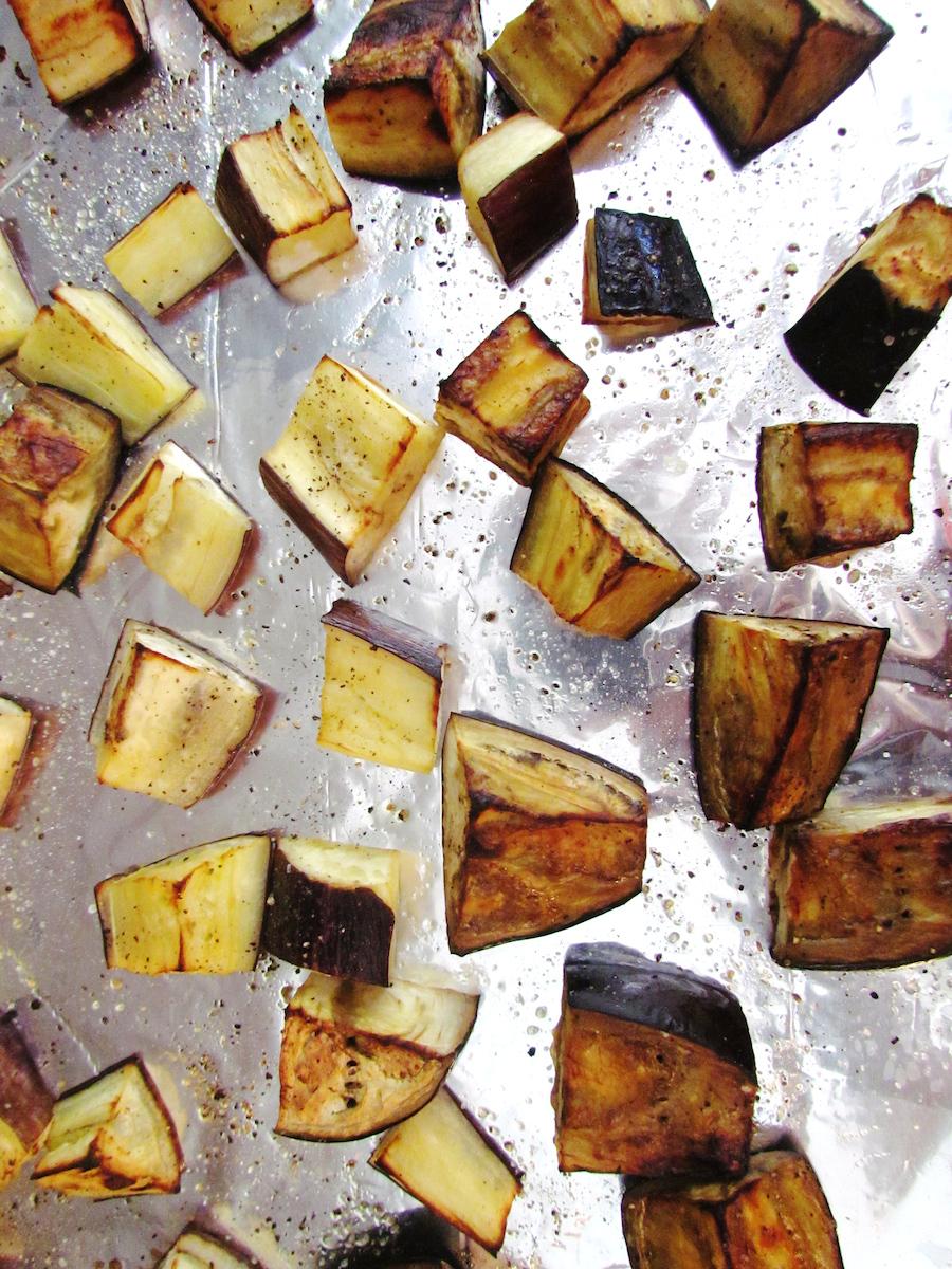 roasted eggplants | www.savormania.com