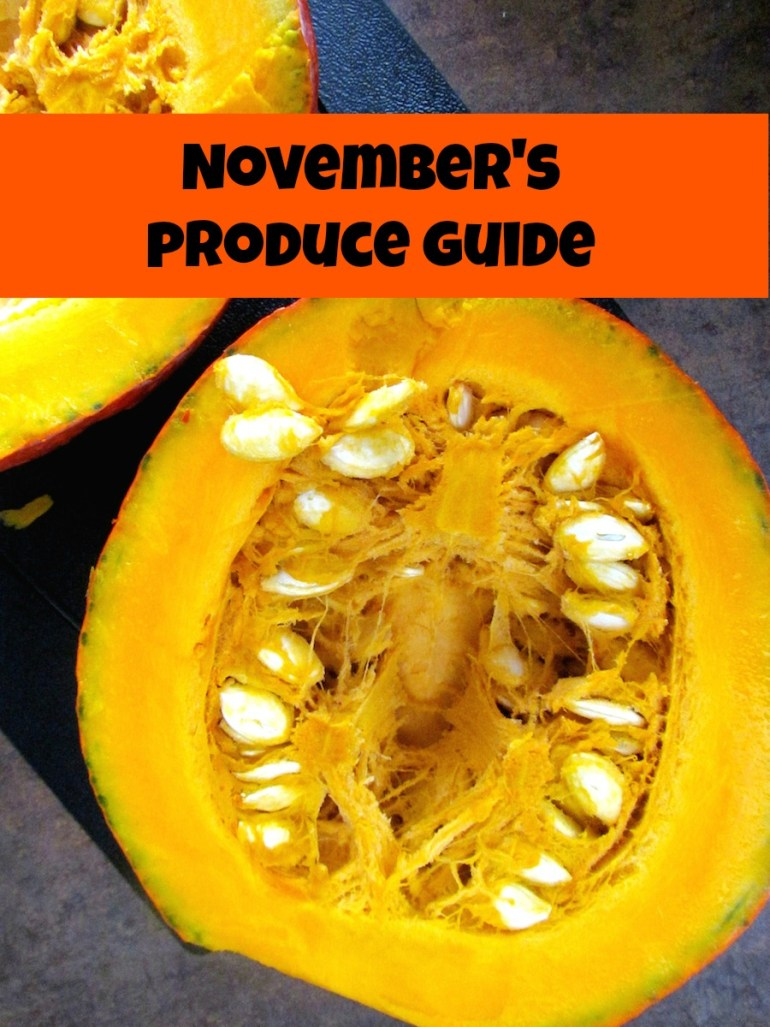 November's produce guide | www.savormania.com