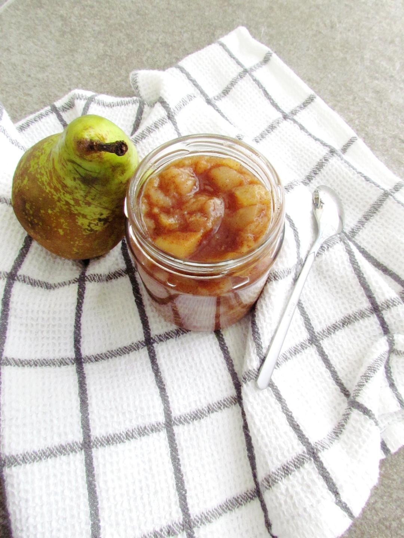 compote de poires sans sucre | www.savormania.com