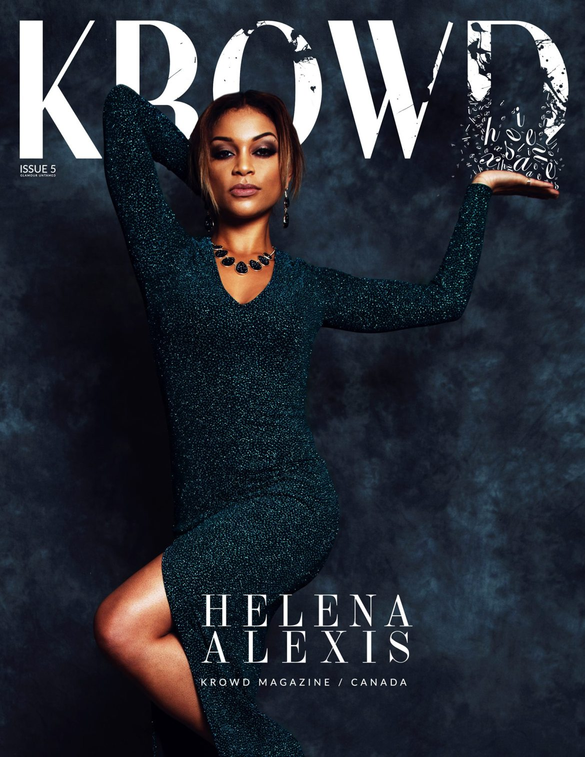 KROWD Magazine Glamour Untamed