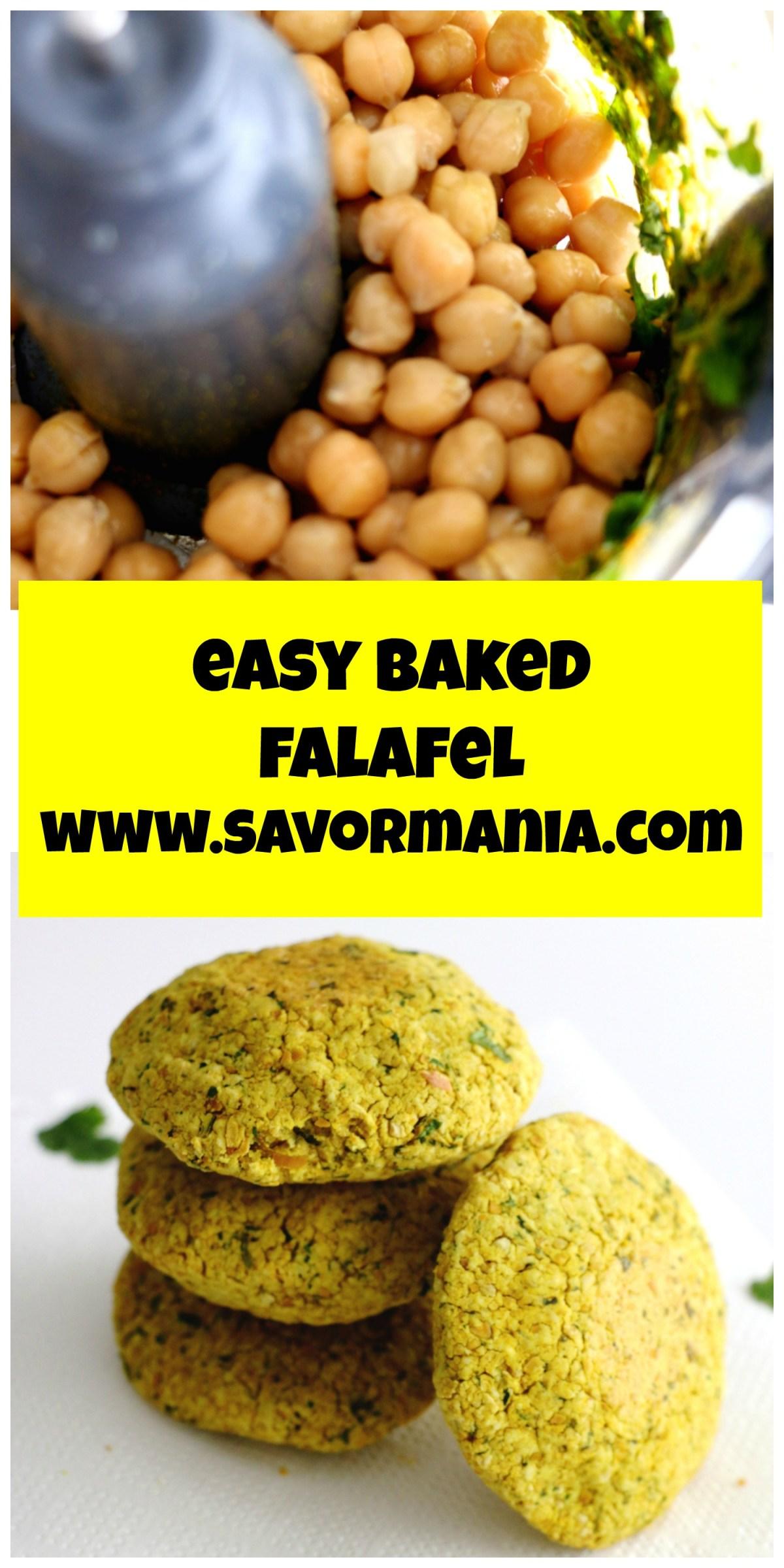 falafels au four | www.savormania.com