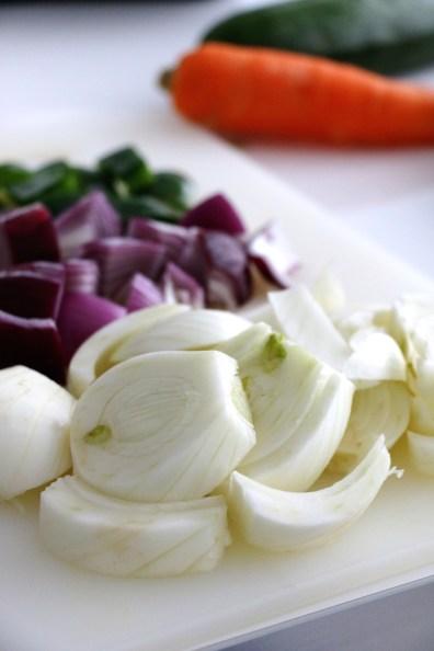 chopped vegetables | www.savormania.com