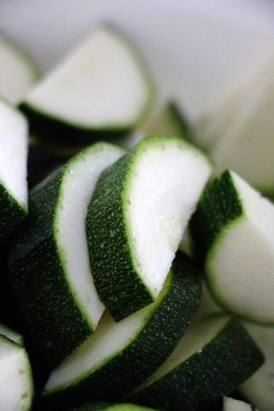 chopped zucchini | www.savormania.com