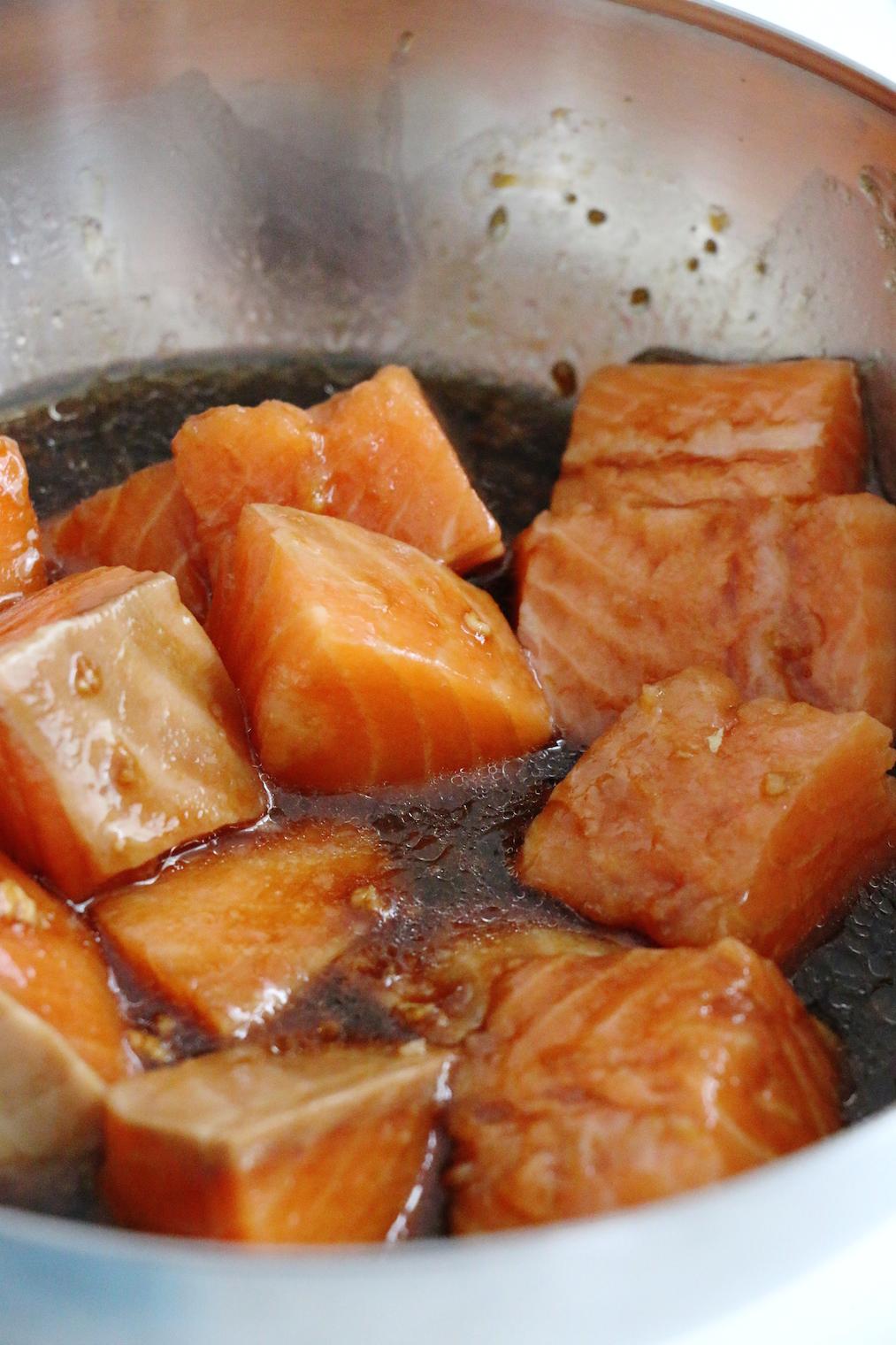 salmon teriyaki marinade | www.savormania.com