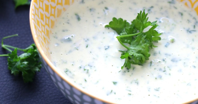 tahini parsley sauce
