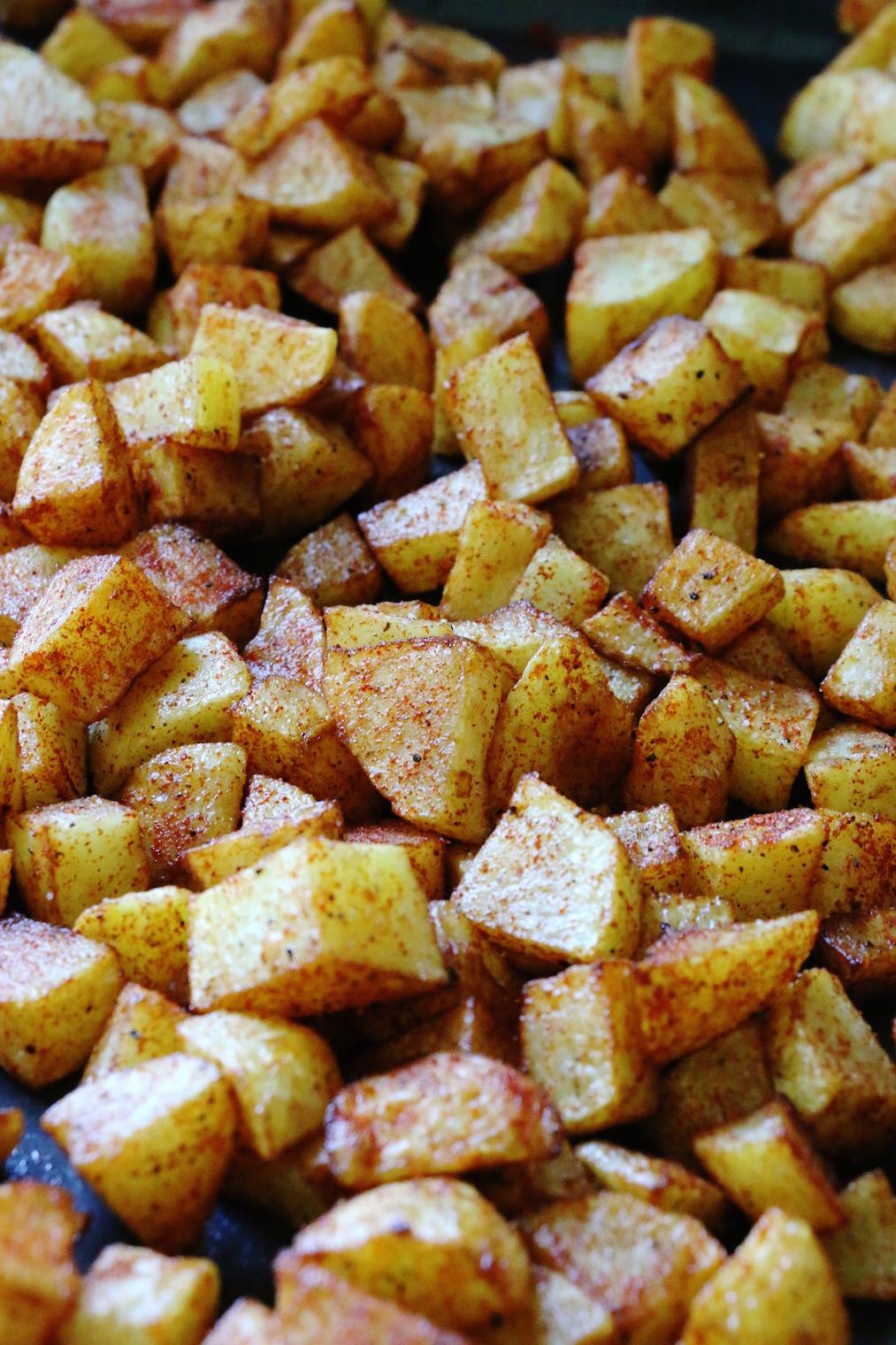 fried potatoes | www.savormania.com