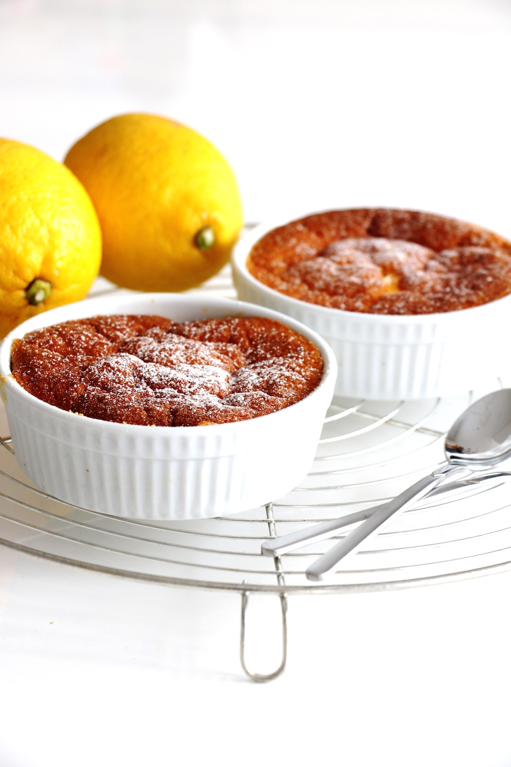 lemon pudding cakes | www.savormania.com