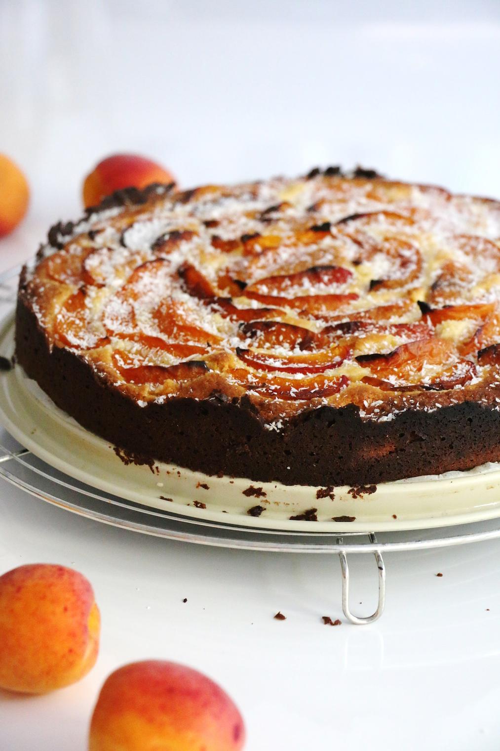 apricot coconut cake