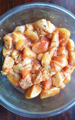 seasoned chicken for chicken pinchos recipe