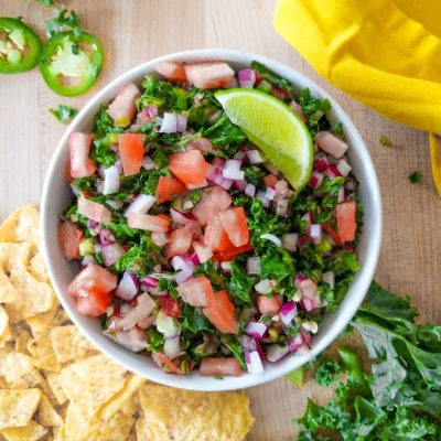 Kale Pico de Gallo