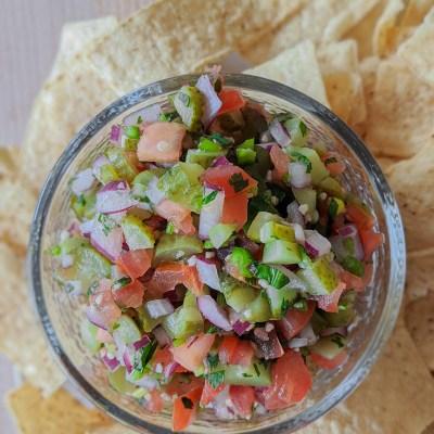 Pickle Pico de Gallo