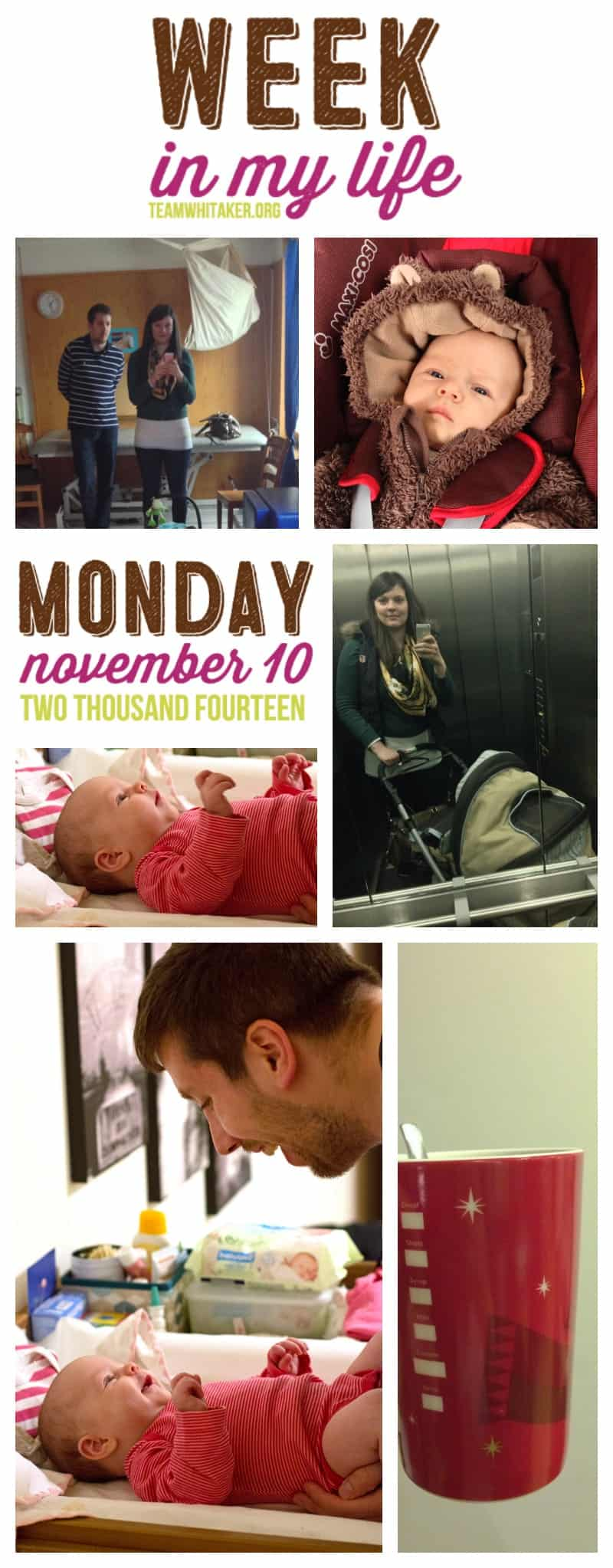 Week in My Life 2014: Monday November 10th