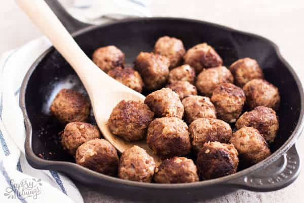 How to cook frozen raw meatballs on the stove
