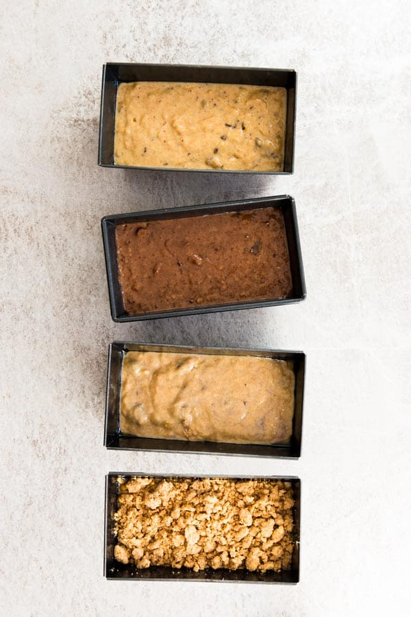 Learn how to make healthy whole wheat banana bread! It's whipped up in a single bowl, so less dishes to wash!
