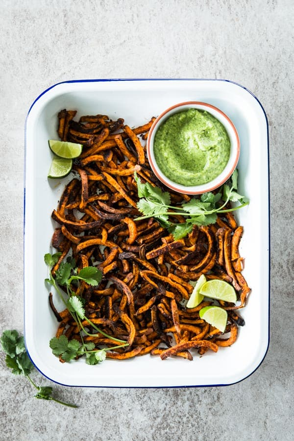 Mexican Sweet Potatoes are an easy snack. While them up for you next mexican fiesta!