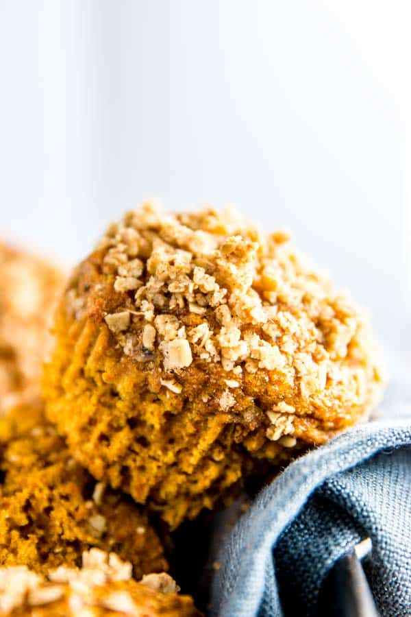 Cozy up for fall and treat your family to these healthy pumpkin muffins. They really are the best and use an entire can of pumpkin (no leftovers!).