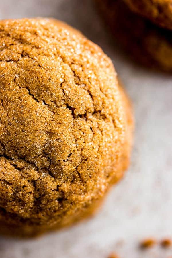 Soft Molasses Cookies are an old fashioned Christmas treat. They are so easy to make!