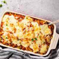 Horizontal image for Baked Ziti with Sausage