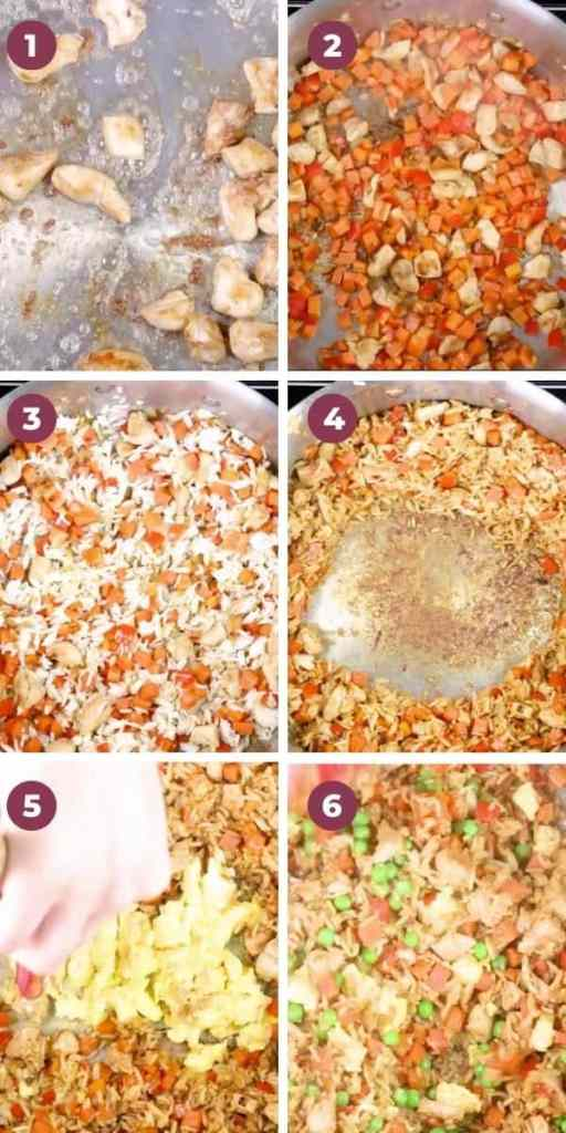 Chicken Fried Rice How To Image