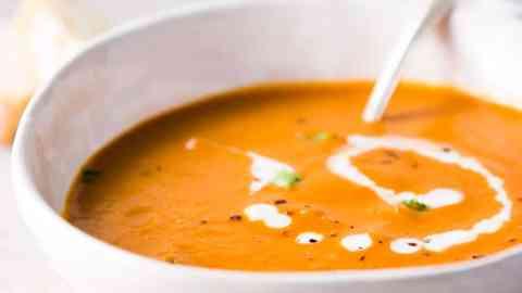 Horizontal image for Easy Tomato Soup