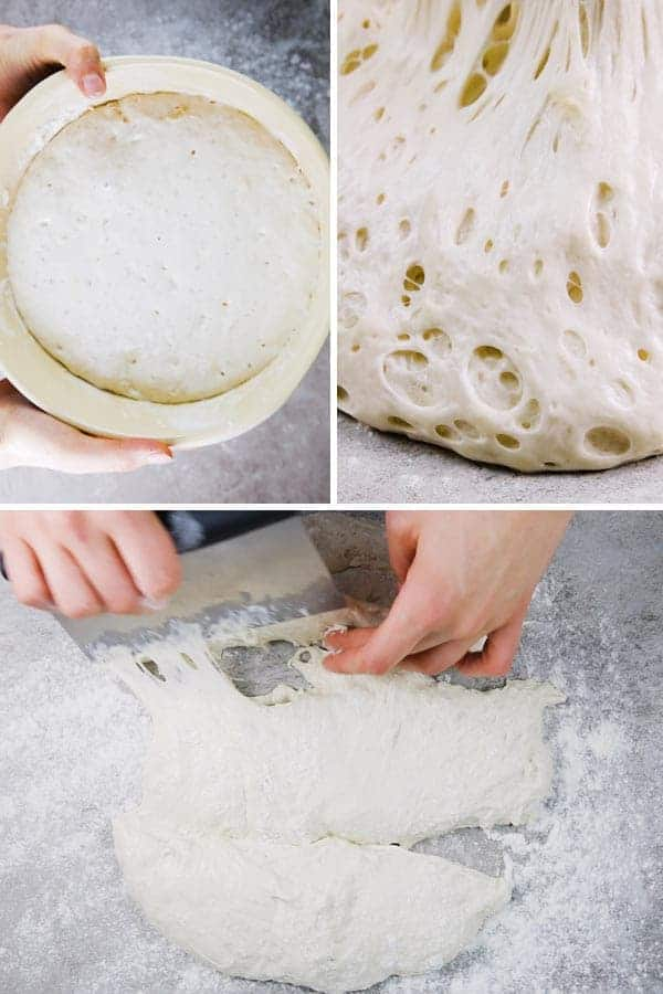 Step By Step Photos for How To Make No Knead Homemade French Bread