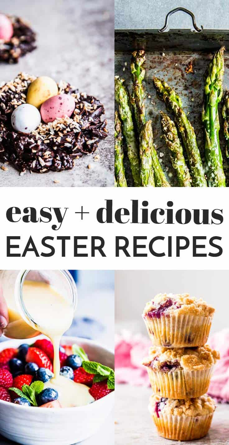 Graphic for Easy Easter Recipes.