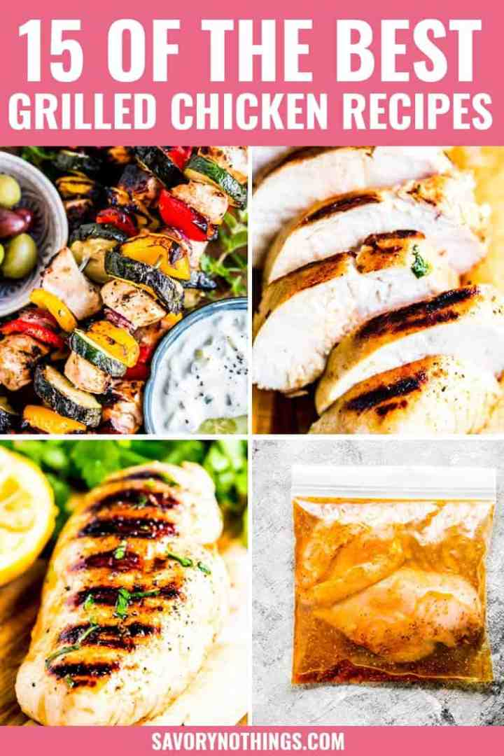 Easy Grilled Chicken Recipes Pinterest Image 3