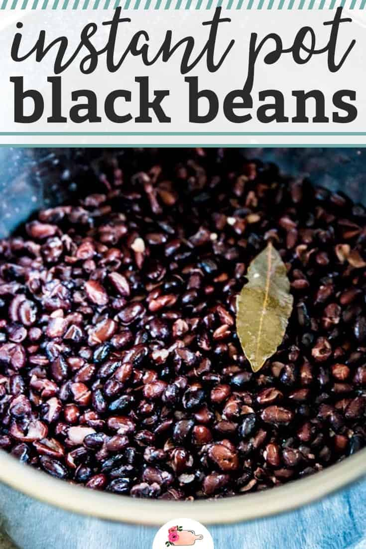 Did you know you can easily cook and freeze your own black beans? It's way cheaper than buying canned, and you'll know exactly what goes into them. I always make mine in my Instant Pot, but you can cook them on the stove top too if you don't own a pressure cooker! | #recipe #easyrecipes #instantpot #instantpotrecipes #pressurecooker #pressurecooking #fromscratch #homemade #diy #blackbeans #familyfriendly