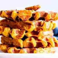 Pecan Pumpkin Waffles