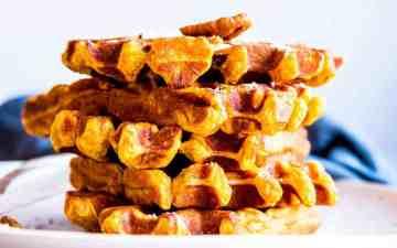 Pumpkin Pecan Waffles Image TK