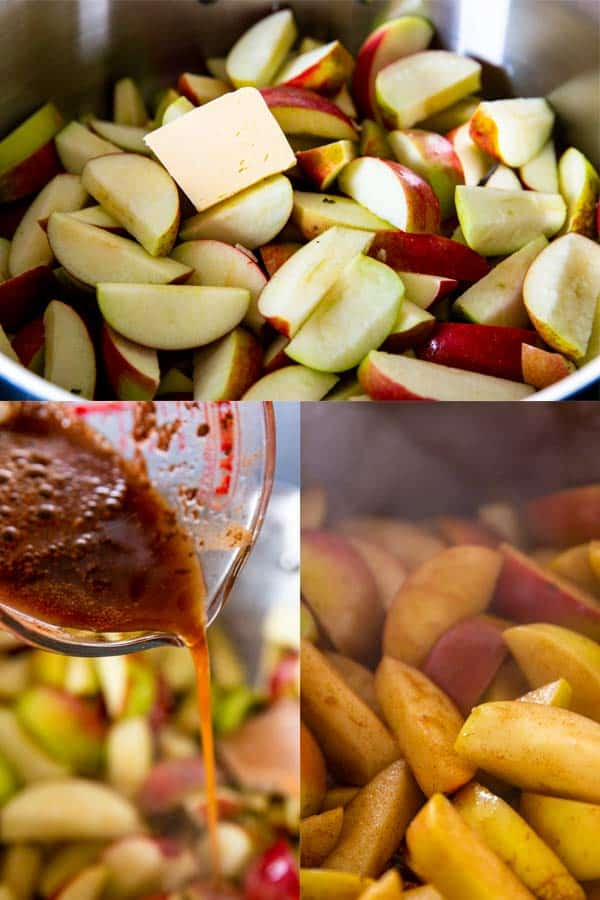 how to make cinnamon apples