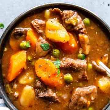 Instant Pot Beef Stew Image TK