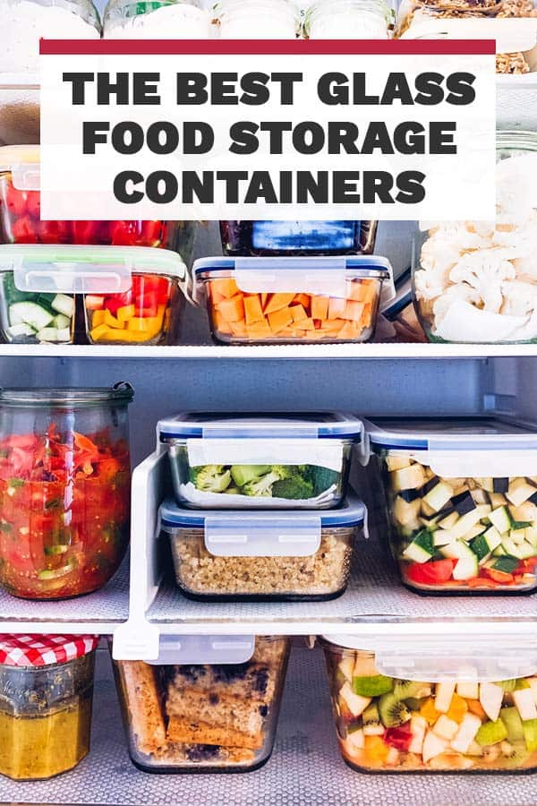 Glass Food Storage Containers Pin