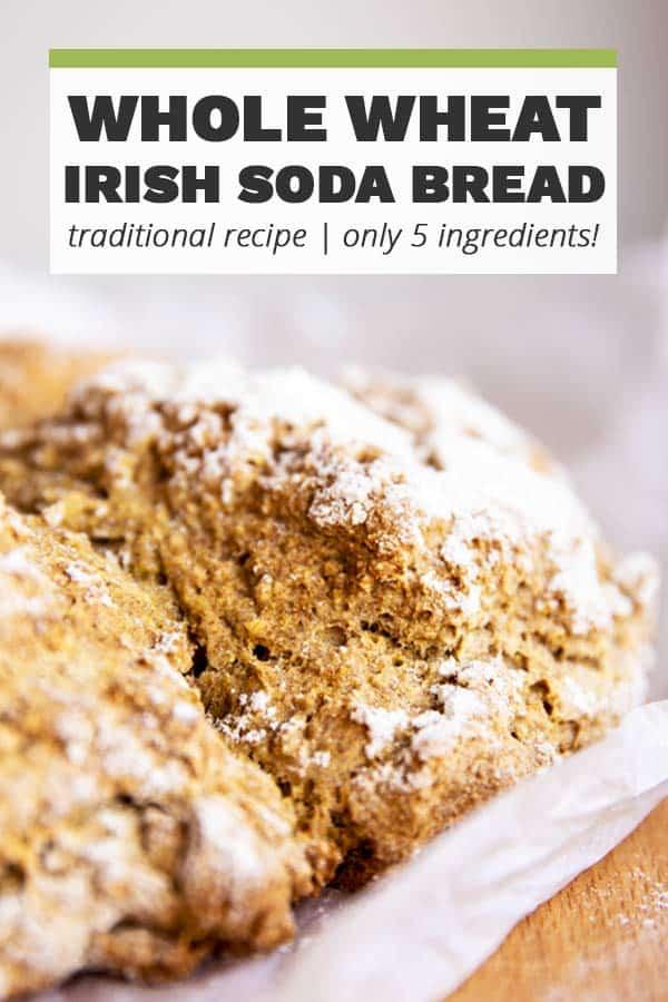 Traditional Irish Soda Bread Image Pin 2