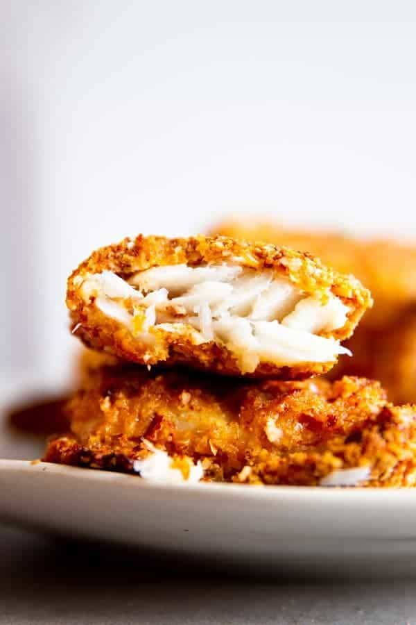 Oven Baked Crispy Fish