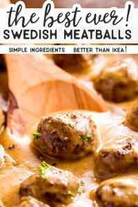 Swedish Meatballs Short Pin