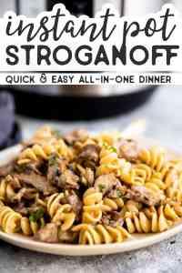 Instant Pot Stroganoff Pin 1