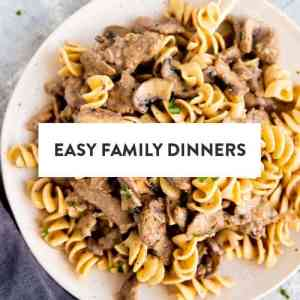 Easy Family Dinners Image