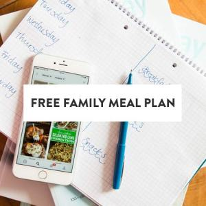 Family Meal Plan Image