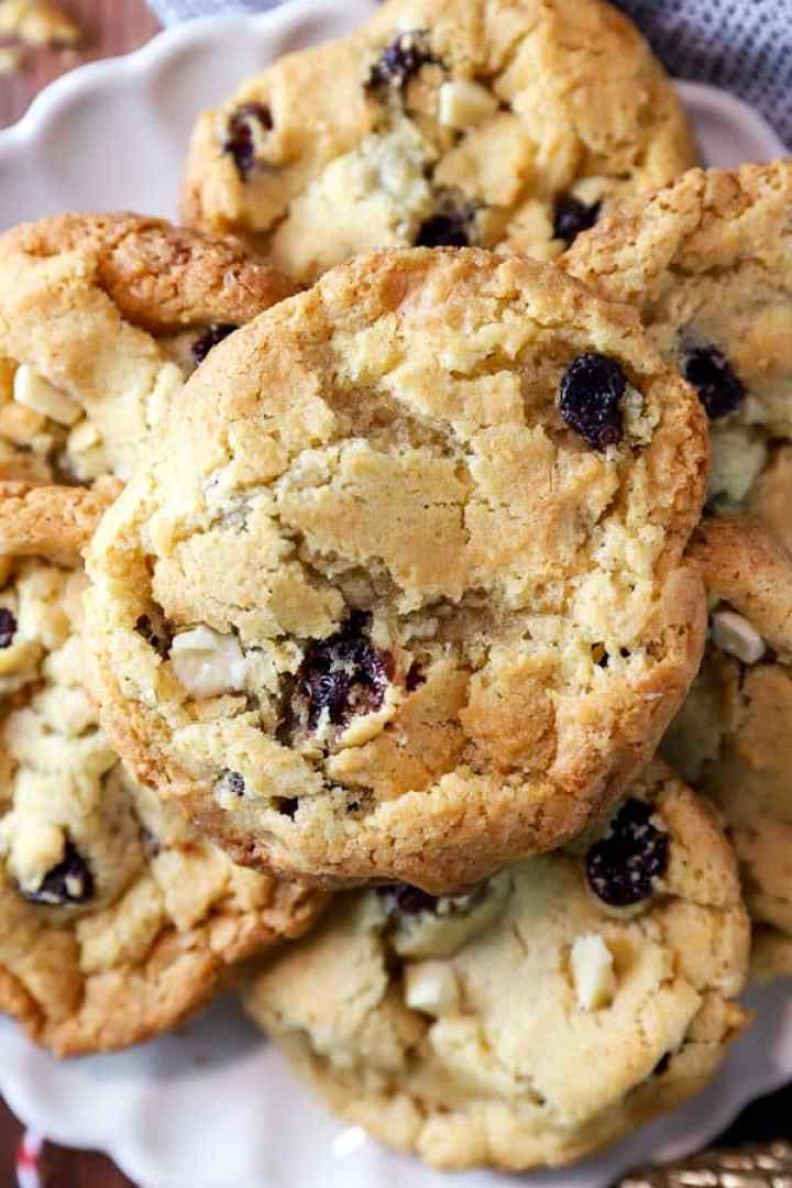 close up photo of a cookie