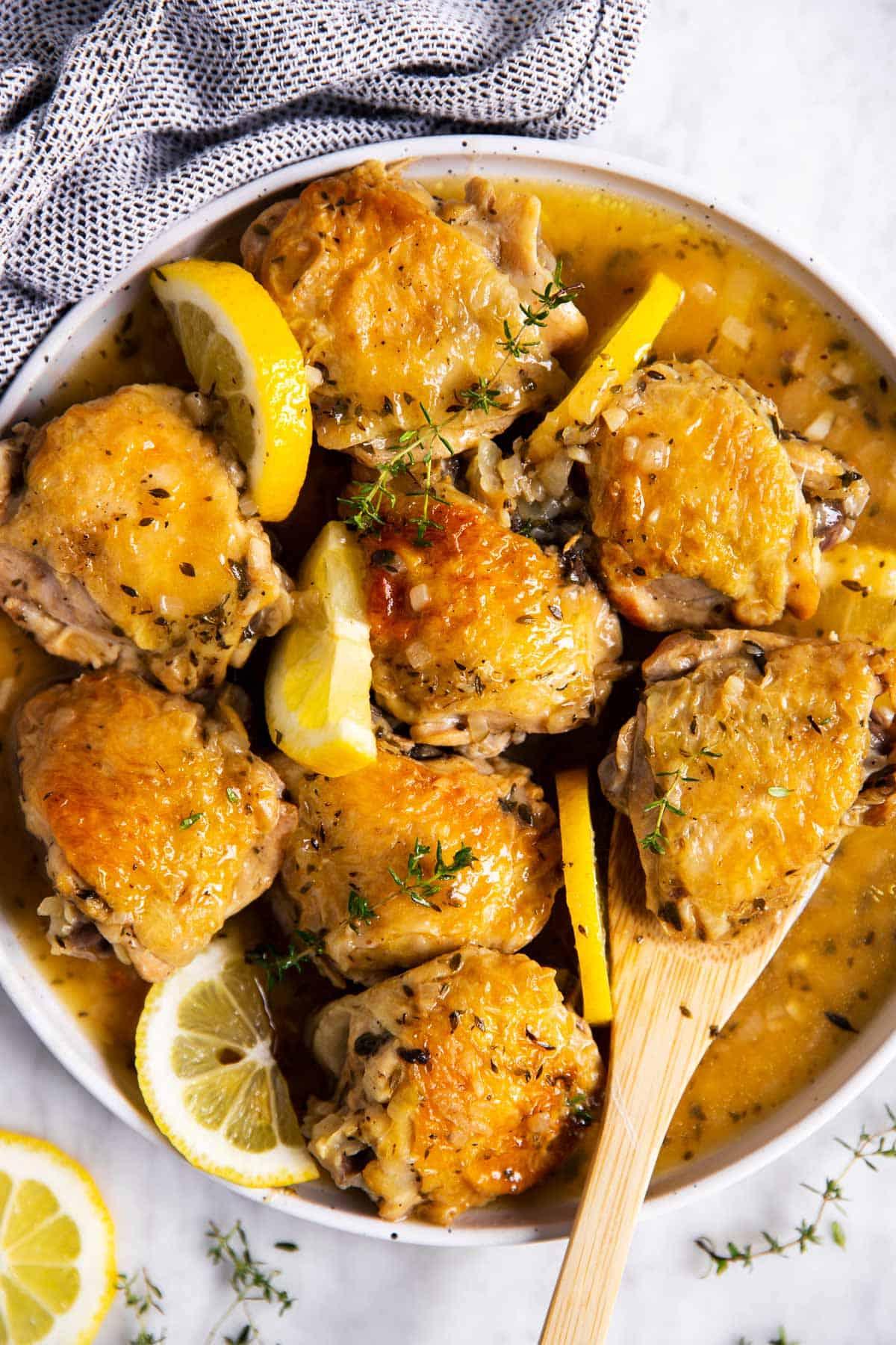 Instant Pot Lemon Chicken Recipe