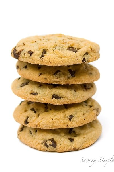Chocolate Chip Cookies ~ Savory Simple