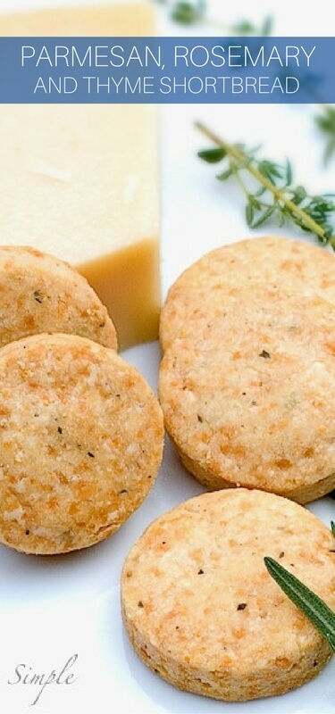 Why buy crackers when they're so quick and easy to make at home? These shortbread crackers use fresh herbs and cheese. They're a wonderful treat to serve at parties. Easy and cheesy.