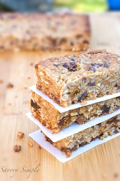 Gluten-Free Vegan Granola Bars ~ Savory Simple