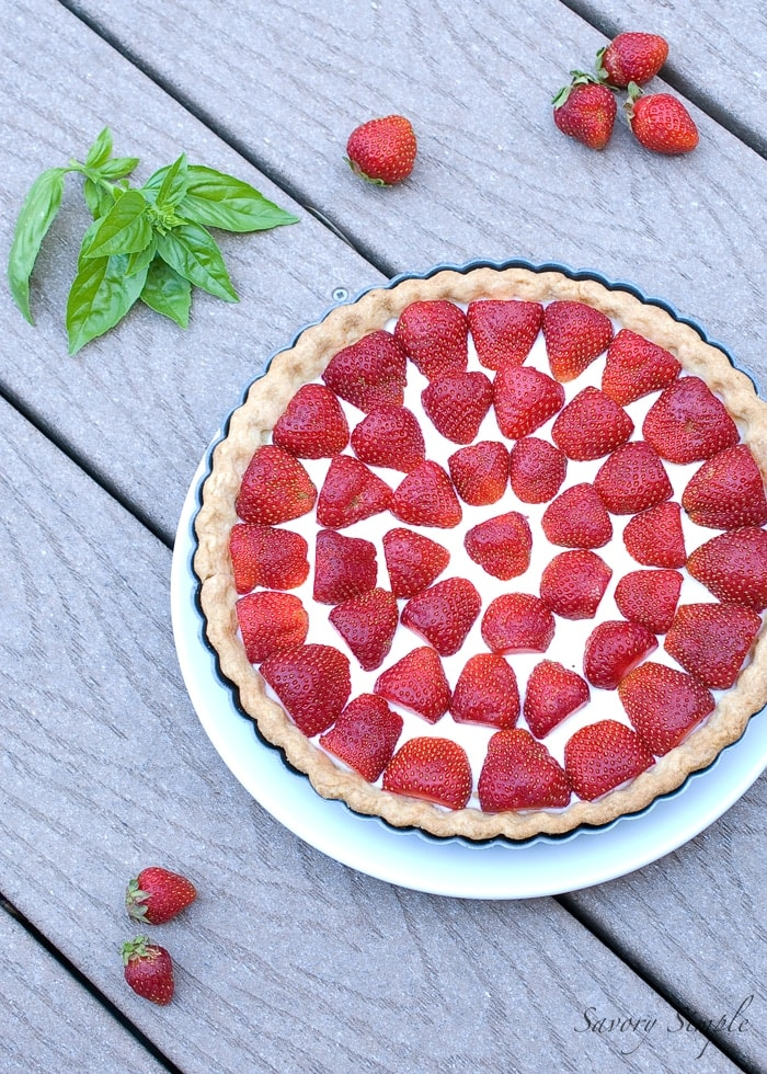 Strawberry Tart ~ Savory Simple