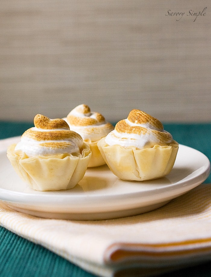 Orange Meringue Tarts with Grand Marnier ~ Savory Simple